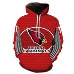 Nfl Arizona Cardinals 3D All Over Print Hoodie, Zip-up Hoodie
