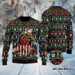 Bigfoot  Ugly Christmas Sweater, All Over Print Sweatshirt