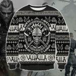 Viking Ugly Christmas Sweater, All Over Print Sweatshirt