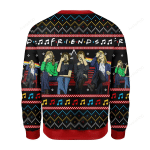 Merry Christmas Gearhomies Friends Ugly Christmas Sweater, All Over Print Sweatshirt