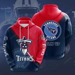 Tennessee Titans 3D All Over Print Hoodie, Zip-up Hoodie