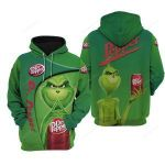 Dr Pepper Grinch 3D All Over Print Hoodie, Zip-up Hoodie