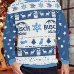 Anheuser-Busch Ugly Christmas Sweater, All Over Print Sweatshirt
