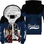 New York Yankees Halloween 3D All Over Print Hoodie, Zip-up Hoodie