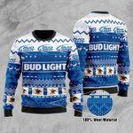 Bud Light Ugly Christmas Sweater, All Over Print Sweatshirt