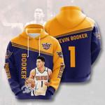 Sports Basketball Nba Phoenix Suns Devin Booker 3D All Over Print Hoodie, Zip-up Hoodie