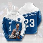 Sports Basketball Nba Minnesota Timberwolves Jimmy Butler 3D All Over Print Hoodie, Zip-up Hoodie