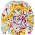 Sailor Moon Venus Anime 3D All Over Print Hoodie, Zip-up Hoodie