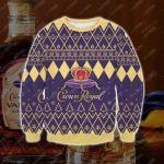 Crown-Royal Ugly Christmas Sweater, All Over Print Sweatshirt