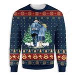 God Sent Me My Wife Ugly Christmas Sweater, All Over Print Sweatshirt