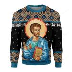 St. Luke Ugly Christmas Sweater, All Over Print Sweatshirt