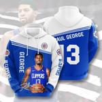 Nba Los Angeles Clippers 3D All Over Print Hoodie, Zip-up Hoodie