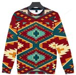 United Tribes Art Ugly Christmas Sweater, All Over Print Sweatshirt