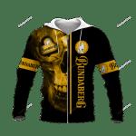 Skull Bundaberg Brewed Drinks 3D All Over Print Hoodie, Zip-up Hoodie
