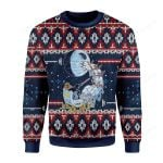 Darth Satnta Ugly Christmas Sweater, All Over Print Sweatshirt