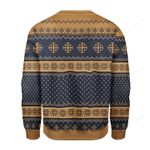 Merry Christmas Gearhomies Jesus  Ugly Christmas Sweater, All Over Print Sweatshirt