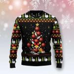Bowling Christmas Tree  Ugly Christmas Sweater, All Over Print Sweatshirt