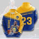 Golden State Warriors Draymond Green 3D All Over Print Hoodie, Zip-up Hoodie