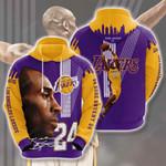Los Angeles Lakers Kobe Bryant 3D All Over Print Hoodie, Zip-up Hoodie