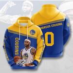 Golden State Warriors Demarcus Cousins 3D All Over Print Hoodie, Zip-up Hoodie