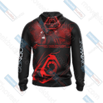 Command & Conquer - Brotherhood of Nod Custom 3D All Over Print Hoodie, Zip-up Hoodie