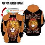 Personalized August Guy Custom 3D All Over Print Hoodie, Zip-up Hoodie