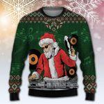Santa Claus DJ Ugly Christmas Sweater, All Over Print Sweatshirt
