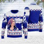 Kamala Harris Excuse Me I'm Speaking Ugly Christmas Sweater, All Over Print Sweatshirt