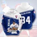 Sports Baseball Mlb Texas Rangers Nolan Ryan Usa  3D All Over Print Hoodie, Zip-up Hoodie