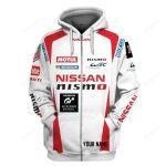 Nissan Nismo Racing Team 3D All Over Print Hoodie, Zip-Up Hoodie