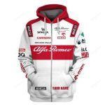 Alfa Romeo F1 Racing 3D All Over Print Hoodie, Zip-Up Hoodie