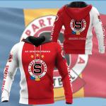 Ac Sparta Praha Footbal 3D All Over Print Hoodie, Zip-Up Hoodie
