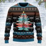 Dragonfly Christmas Tree Ugly Christmas Sweater, All Over Print Sweatshirt