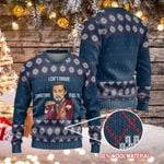 Leonardo DiCaprio Django Unchained I Can't Imagine Christmas In Bolts Ugly Christmas Sweater, All Over Print Sweatshirt