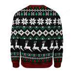 Make The Yuletide Gay Ugly Christmas Sweater, All Over Print Sweatshirt