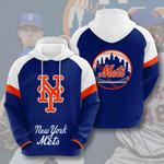 Sports Baseball Mlb New York Mets 3D All Over Print Hoodie, Zip-up Hoodie