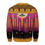 Aliens Take Me Away Ugly Christmas Sweater, All Over Print Sweatshirt