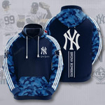 Sports New York Yankees Bronx Bombers Baseball 3D All Over Print Hoodie, Zip-up Hoodie
