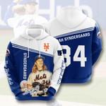 Mlb New York Mets Noah Syndergaard 3D All Over Print Hoodie, Zip-up Hoodie