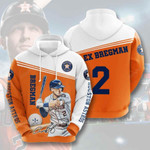 Sports Baseball Mlb Houston Astros 3D All Over Print Hoodie, Zip-up Hoodie