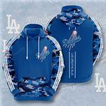 Sports Baseball Mlb Los Angeles Dodgers 3D All Over Print Hoodie, Zip-up Hoodie