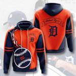 Sports Baseball Mlb Detroit Tigers 3D All Over Print Hoodie, Zip-up Hoodie