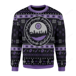 The Lord of the Rings The Fellowship Of The Ring Ugly Christmas Sweater, All Over Print Sweatshirt