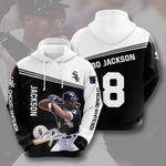 Sports Baseball Mlb Chicago White Sox Bo Jackson 3D All Over Print Hoodie, Zip-up Hoodie