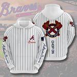 Sports Baseball Mlb Atlanta Braves 3D All Over Print Hoodie, Zip-up Hoodie