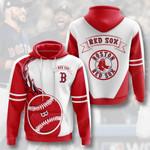 Sports Baseball Mlb Boston Red Sox 3D All Over Print Hoodie, Zip-up Hoodie