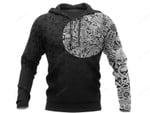 Viking Odin Norse Valhalla Best Viking Tattoo 3D All Over Printed Hoodie, Zip- Up Hoodie