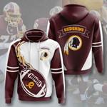 Sports American Nfl Washington Redskins  3D All Over Print Hoodie, Zip-up Hoodie