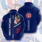 Sports Baseball Mlb Chicago Cubs 3D All Over Print Hoodie, Zip-up Hoodie