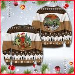 I Hate People Bear Beer Ugly Christmas Sweater, All Over Print Sweatshirt